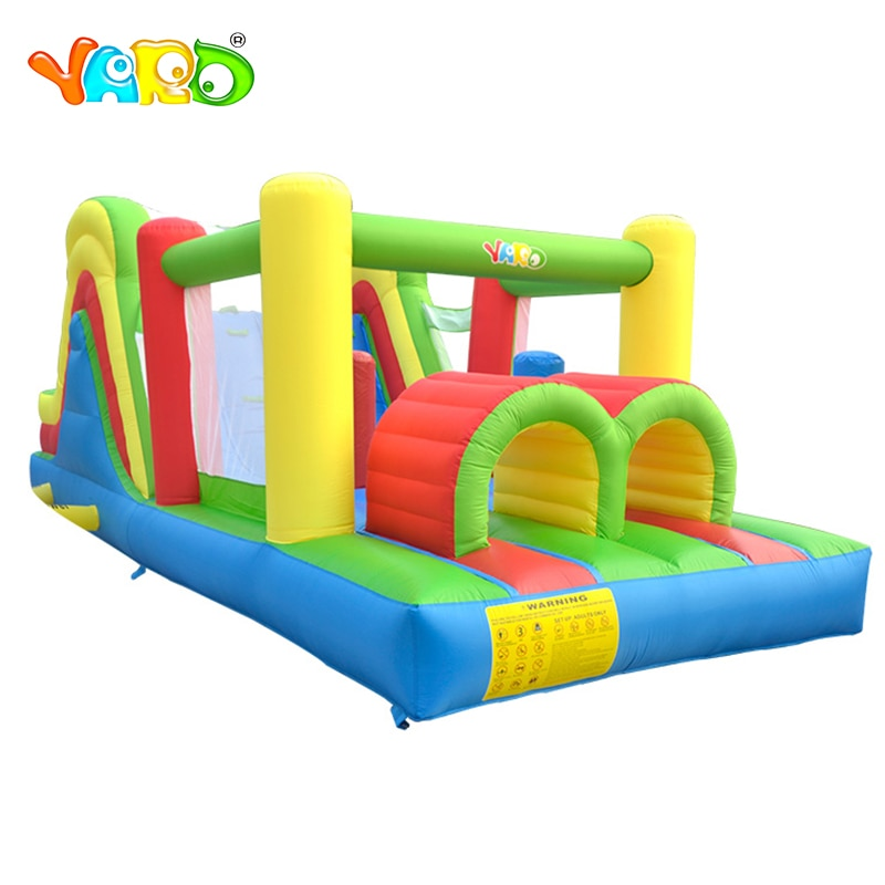 Giant Inflatable Bouncy Castles  6.4x2.8x2.5M Jumping Castles Bouncer Inflatable Bounce House With Slide For Children Fun Play yard bouncy castle inflatable jumping castles 3 5 3 2 7m trampoline for children house inflatable bouncer with slide blower