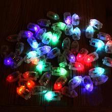 10/50 Pcs/Lot ballon lumineux LED Flash lampes lumineuses barre lumineuse lanterne noël fête de mariage décorations anniversaire décor
