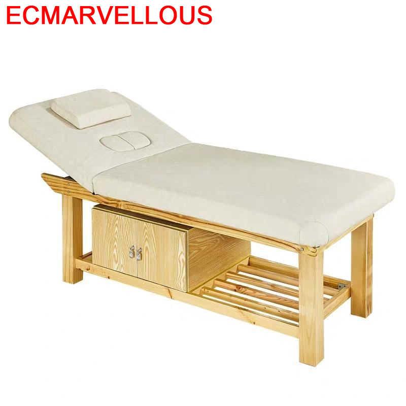 Massaggio-Mueble de belleza Para Masaje, Camilla de Masaje Plegable Para tatuaje, mesa...