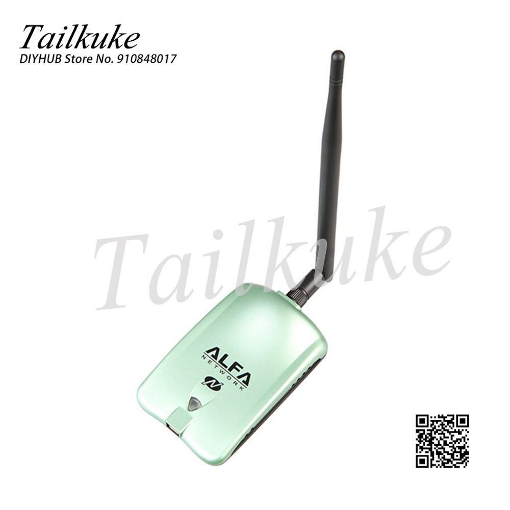 بطاقة شبكة Kali AWUS036NH ، USB بدون محرك أقراص ، Cdlinux ، Ubuntu