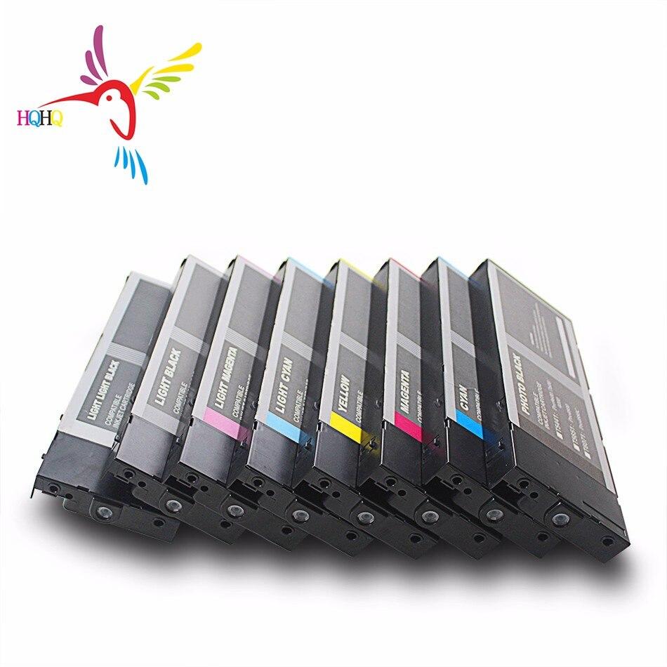 HQHQ T6041-T6048 чернильный картридж с чернилами для принтера Epson 4880/7880/9880 принтеры 9880 чернильный картридж T6041Compatible для Epson