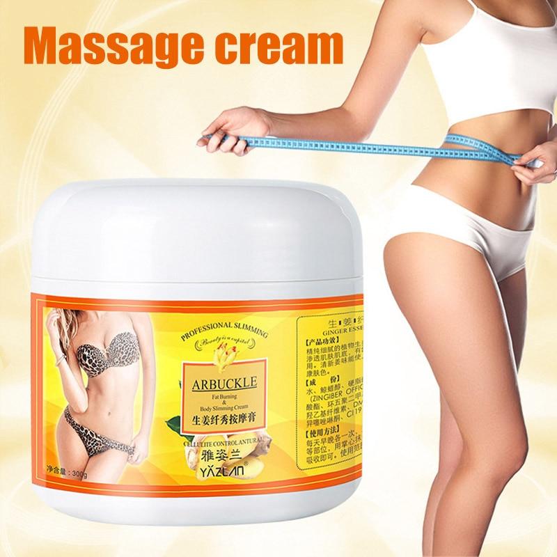 1pc Ginger Full Body Slimming Cream Fat Bruner Anti-cellulite Body Shaping Gel Moisturizing Firming