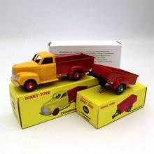 Atlas ensemble Dinky jouets 25S 25P Remorque 2 Roues Studebaker Camionnette moulé sous pression modèles voiture Collection