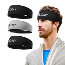 TANLOMY Hair bands Men Sweatband Sports for men Outdoor Sport Headwrap Fitness Sports Random color d