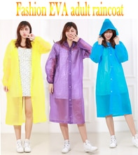Manteau imperméable à capuche Portable EVA pour hommes   Imperméable imperméable, capuche, Poncho de voyage de randonnée, imperméable pour adulte, mode dames