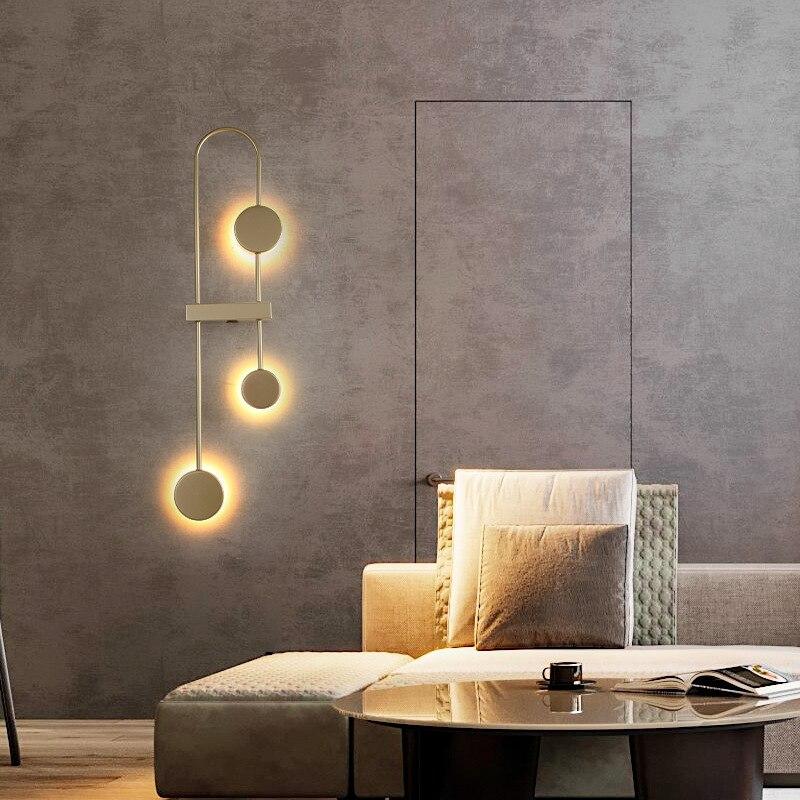 abajur decorativo de parede para sala de estar quarto da noite moderno simples criativo