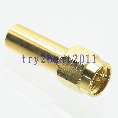 DHL/EMS 20 Sets 1pce terminación tonto cargas SMA macho pin 2W 2 vatios DC 0-3GHZ 50ohm coaxial-C1