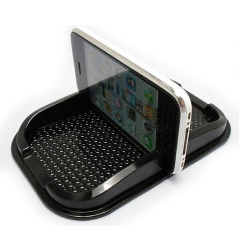 Alfombrilla antideslizante de silicona mágica para el soporte del navegador de la almohadilla del teléfono móvil