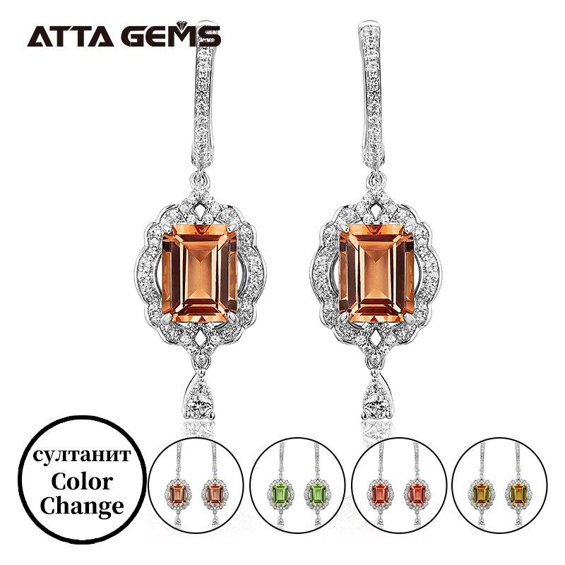 Boucles doreilles en argent S925 Design exquis classique pour fiançailles de mariage bijoux préférés des femmes
