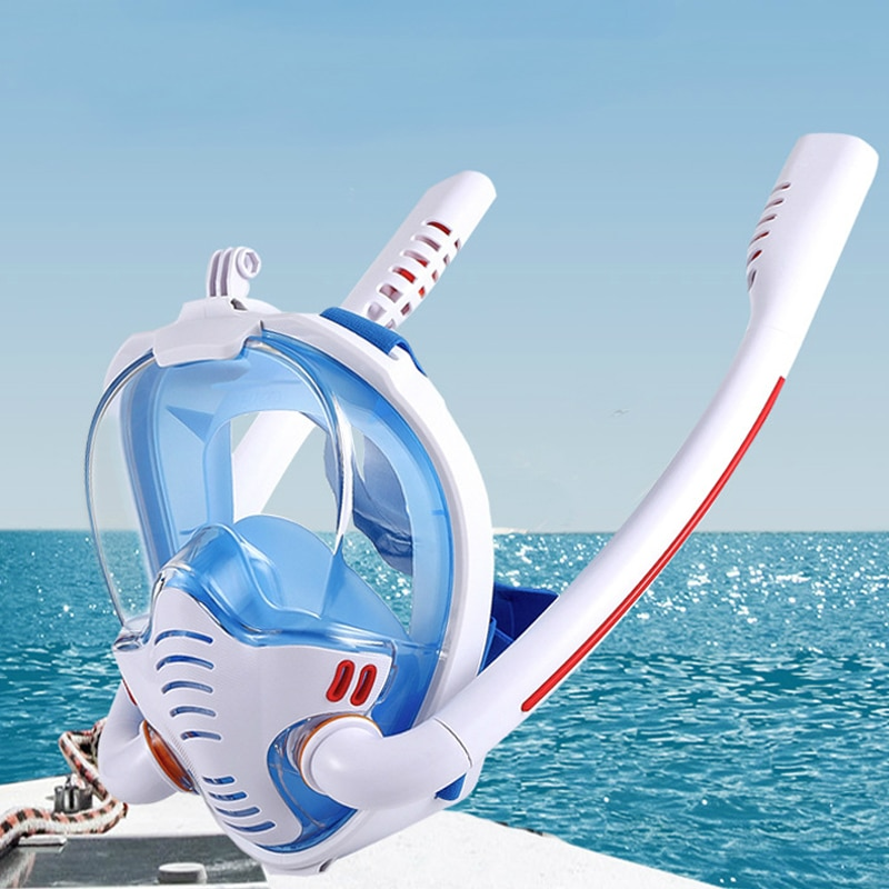 Breathing Apparatus for Diving Mask All Face Masks for Immersion Binoculars Kids Diving Goggles Adults Men's Underwater Mask 360