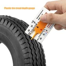 Car Motorcycle Trailer Wheel Measure Ruler Auto Tyre Tread Depth Gauge Caliper Woodworking Gadget De