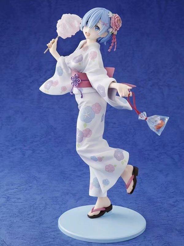 Re Zero Rem figura de acción juguetes coleccionables 23