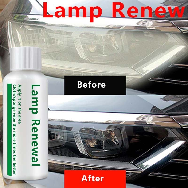 Lámpara de coche de 20mL, reparación de faros Renawal, solución de recubrimiento, reparación, revestimiento retrovisor, pulido de faros delanteros, líquido antiarañazos