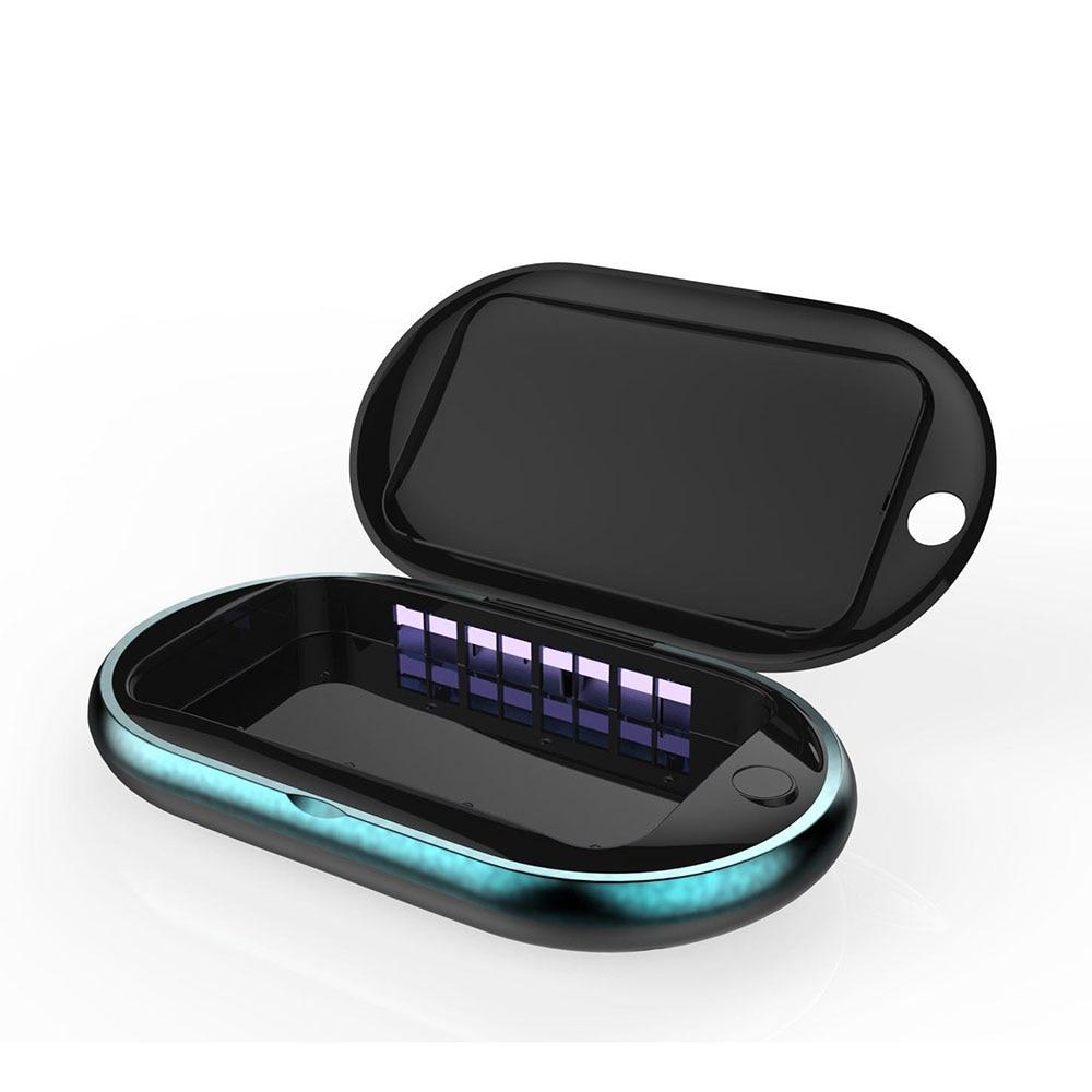 Esterilizador multifuncional uv do telefone móvel desinfectar íon, esterilização, aromaterapia, carregamento, suporte do telefone móvel