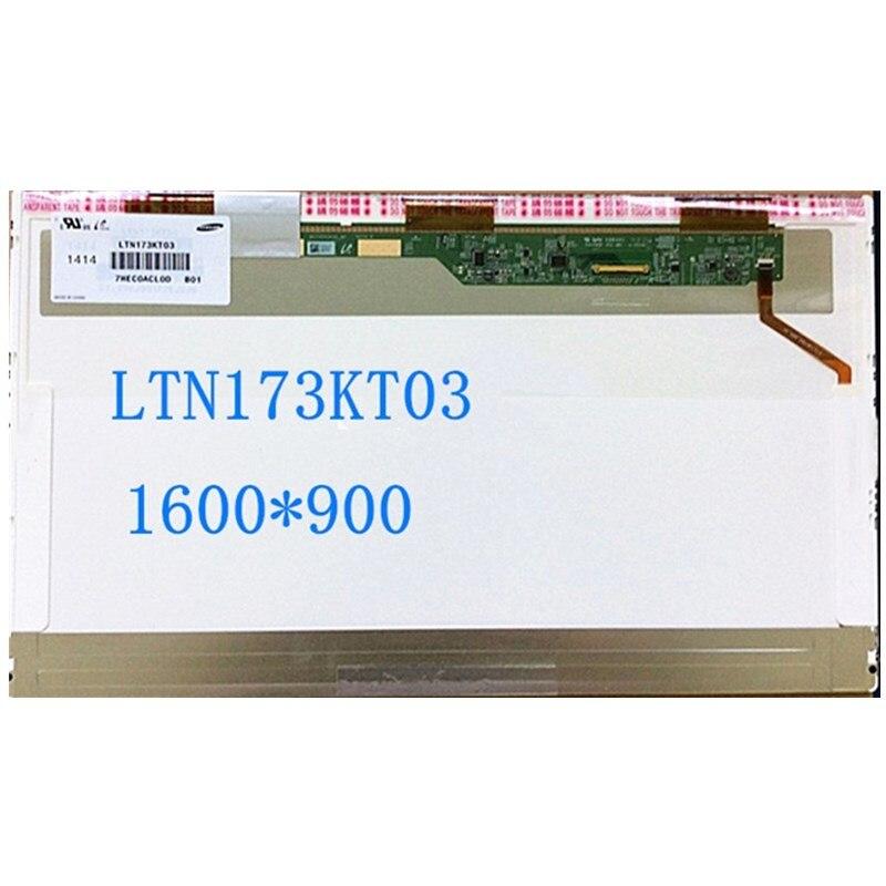 شاشة LCD للكمبيوتر المحمول مقاس 17.3 بوصة LTN173KT03 لجهاز HP pavilion 17-g121wm 17-G 17-F 17-F115DX ، شاشة الكمبيوتر المحمول