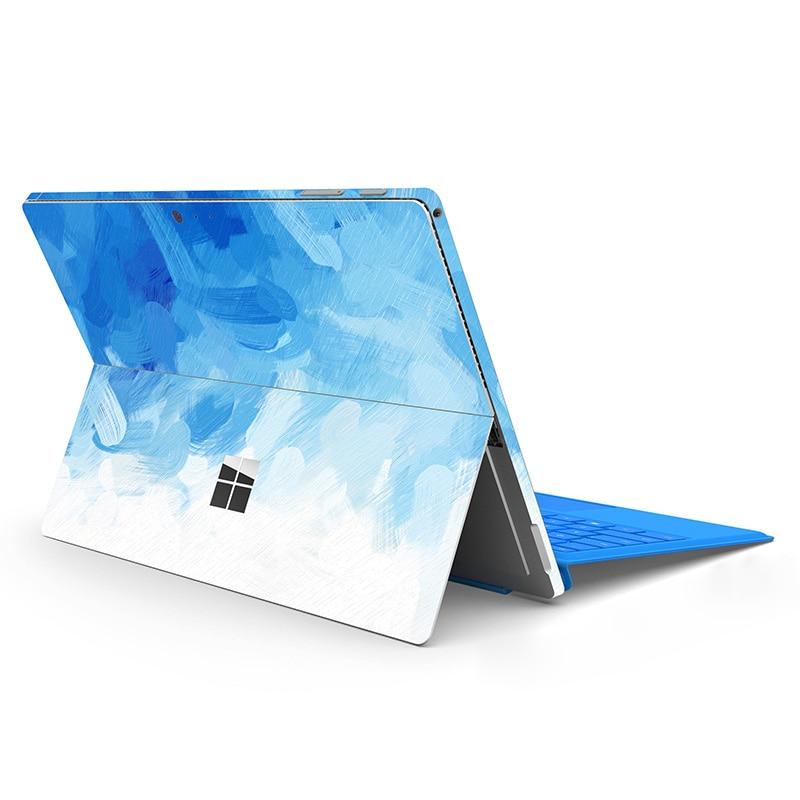 ملصقات الكمبيوتر المحمول لمايكروسوفت السطح برو 3 4 5 6 7 ملصقات مصورة ملونة لسطح الذهاب 1 2 برو X 2020 الغطاء الخلفي
