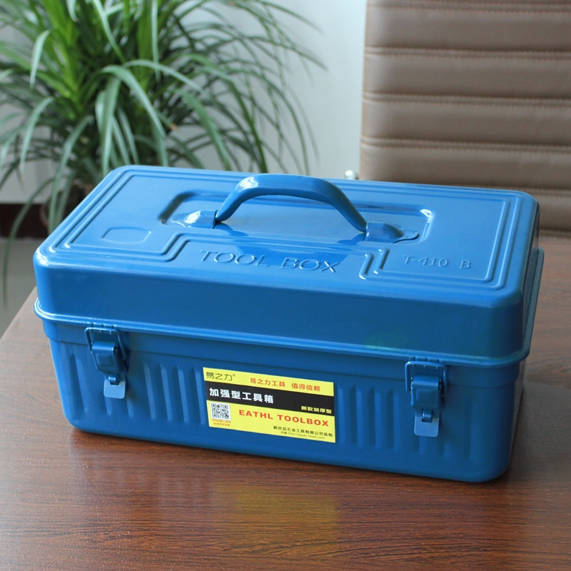 Large Multifunction Tool Box Set Home Metal Tool Box Waterproof Suitcase Storage Box Caja De Herramientas Tool Chest DJ60TB