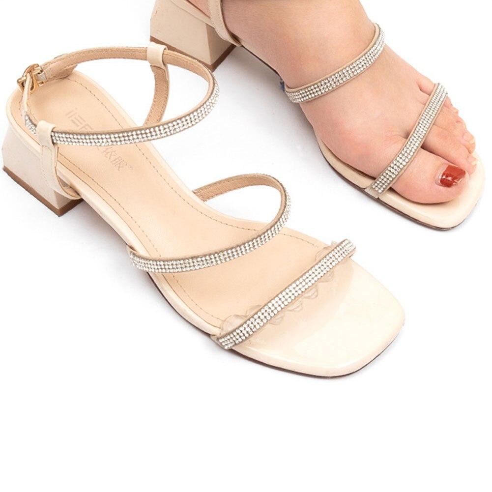 Plantillas adhesivas antideslizantes para sandalias, 2 uds., Para tacones altos, sandalias de silicona para mujer, parche elegante de pie adhesivo, almohadilla de Gel para el antepié