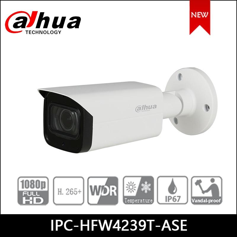Dahua cámara IP 2MP WDR color Starlight Mini cámara de red tipo bala IPC-HFW4239T-ASE soporte POE, cámara de seguridad