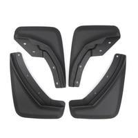 For Volvo XC40 2018 2019 2020 Front&Rear Mudflaps Splash Guards Mud Fender Mud Flaps Black Plastic 4pcs Car Styling