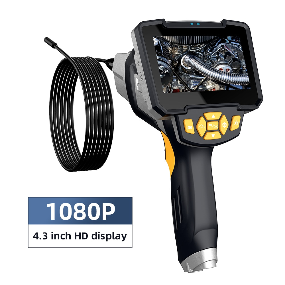 Inskam 112-1 New 8mm One Lens Endoscope Camera with 4.3
