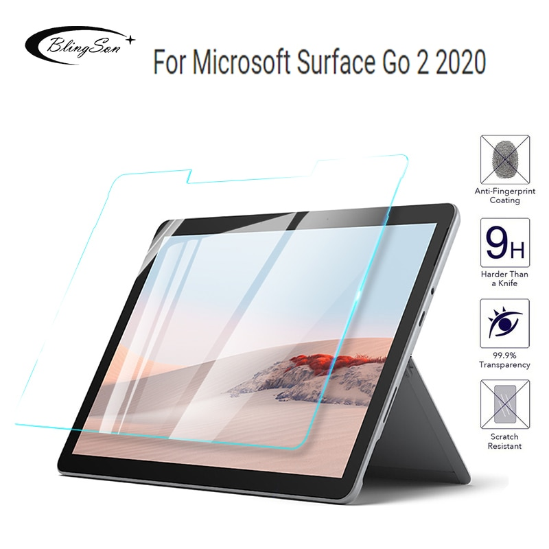 9H Tempered Glass For Microsoft Surface Go 2 10.5