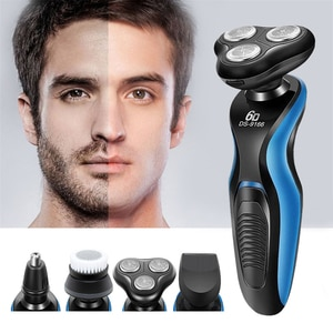 Multifunctional 3 In 1 Electric Razor Beard Hair Nose Trimmer Professional Beauty Styling Shaving Machine Home Travel Tool 45D