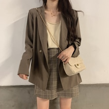 Small Suit Jacket for Women 2021 Spring and Autumn New Korean Style Sense of Design Niche Small Temp