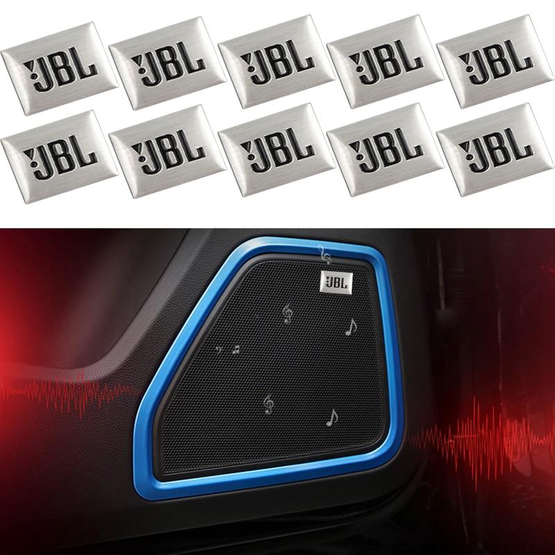 10Pcs car-styling JBL Car Audio decorate For BMW E46 E39 E90 E60 E36 F30 E34 X5 E53 E30 F20 E92 E87 M3 M4 M5 X5 X6 car sticker