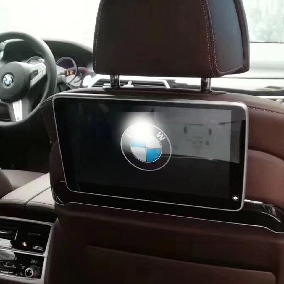 11,6 pulgadas 1920x1080 de alta definición Pantalla de Monitor de reposacabezas soporte USB pantalla LCD de pantalla para BMW X6 F16 sistema Android 7,1