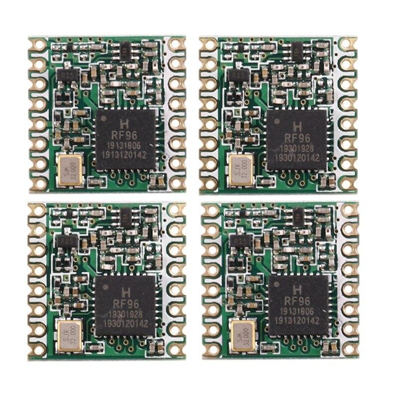 MOOL 4 шт. RFM95 RFM95W 868 RFM95-868MHz LORA SX1276 модуль беспроводного приемопередатчика FCC ROHS ETSI REACH