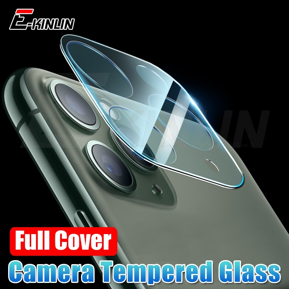 Cobertura completa para iPhone 11 Pro Max Back Cámara lente película protectora para iPad Pro 11 12,9 2020 Protector de pantalla de vidrio templado