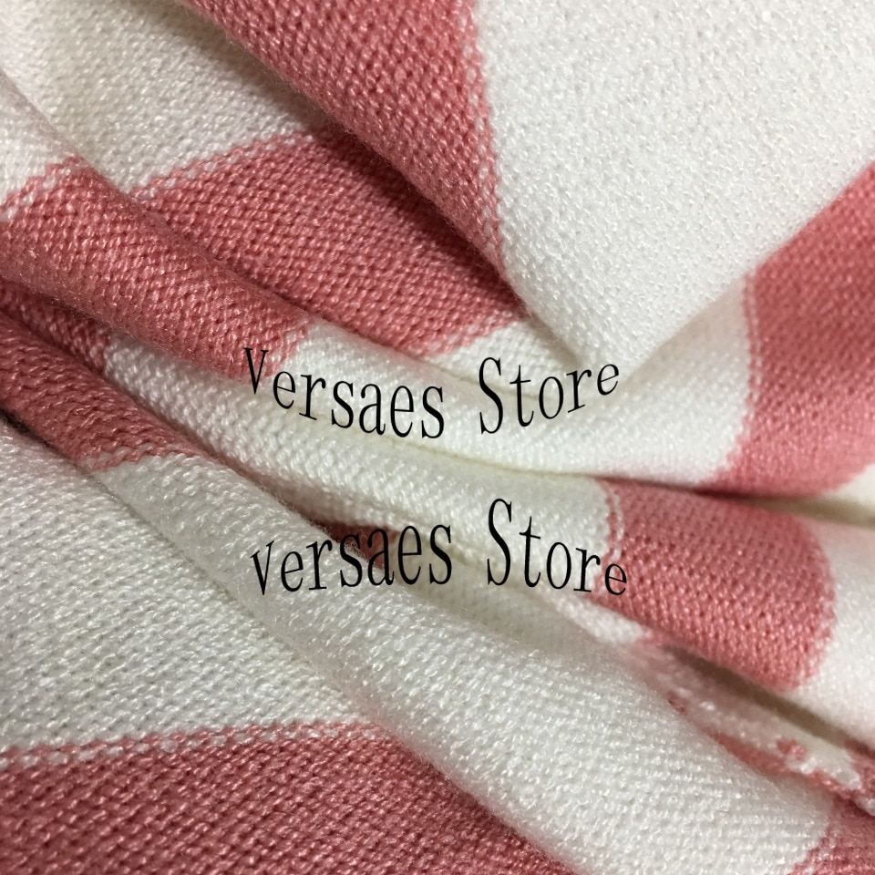 2021 luxury design embroidery letters fashion women's long sleeved cardigan stripe temperament versatile knitted coat sweater enlarge