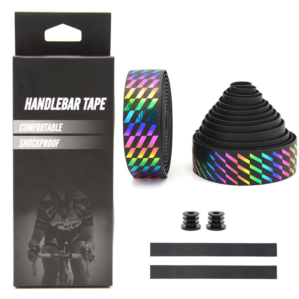 Cycle Bar Tape Road Handlebar Straps Bicycle Handlebar Covers Cycling Accessories Breathable Non-slip Dead Flying Bike Straps