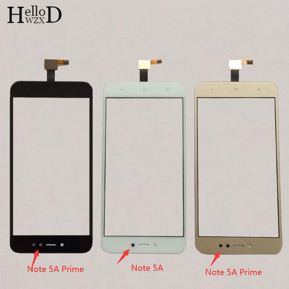 Mobile Touch Screen For Xiaomi Redmi Note 5A \ Note 5A Prime Touch Screen Sensor Digitizer Panel Front Glass Protector Film недорого