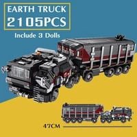 2105pcs military toys tank swat truck movie series car technical building blocks bricks figures toy children kid birthday