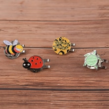 25mm Golf Hat Cap Clip Marker Golf Accessories Ball Magnetic Hat Clips Outdoor Alloy Golf Fans Suppl