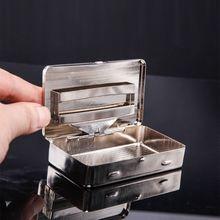 Thin American Eagle caja de cigarrillos de Metal cajas de tabaco de cigarrillo automático
