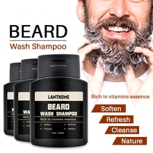 Beard washing shampoo for men, 120 ml, Beard shampoo, moisturizing, Cleaning, nourishing cleanser an