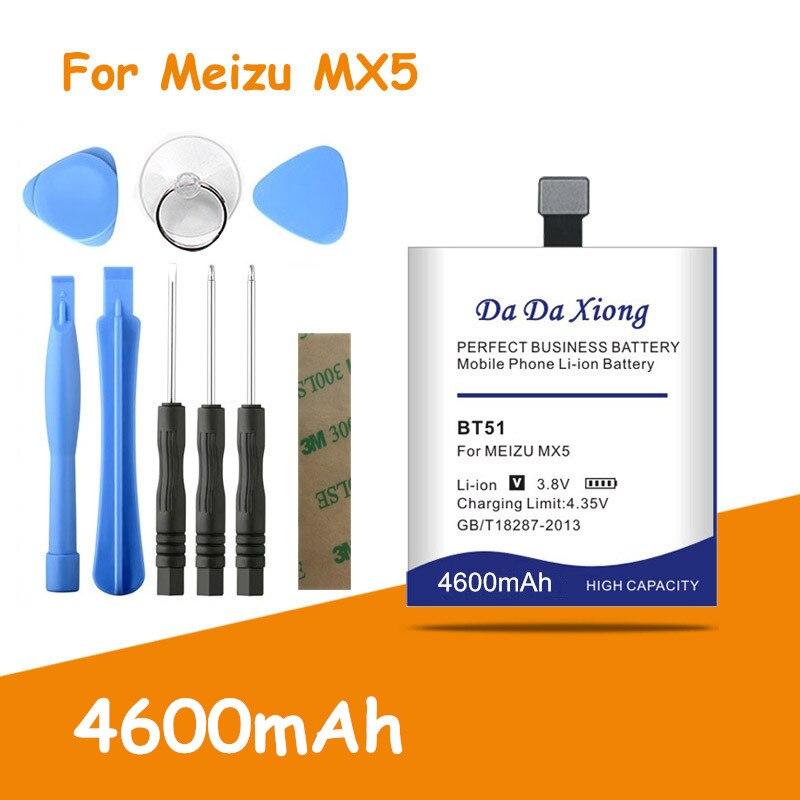 Batería de BT-51 BT51 4600mAh segura y duradera recién mejorada para MEIZU MX5 M575M M575U