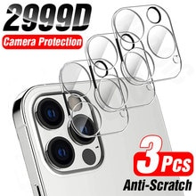 3Pcs Full Cover Camera Lens Protector on per iPhone 12 13 Pro Max Mini vetro temperato per iPhone 11 Pro Max XR Camera Protector