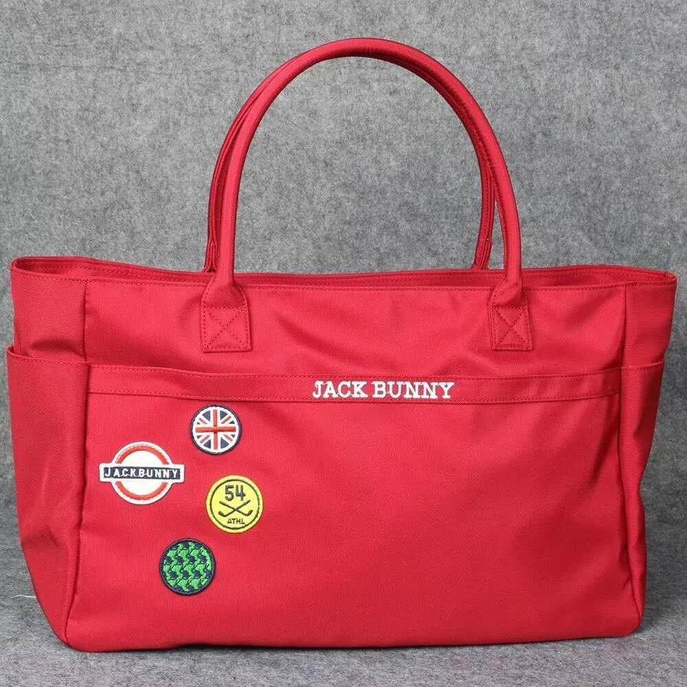 PG Bunny Fashion Golf Clothing Bag Canvas Composite Large Capacity Storage Bag