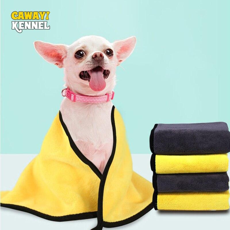 Suministros para mascotas, toalla absorbente de alto espesor, suministro de artefacto superabsorbente de secado rápido para perros y gatos, con toalla