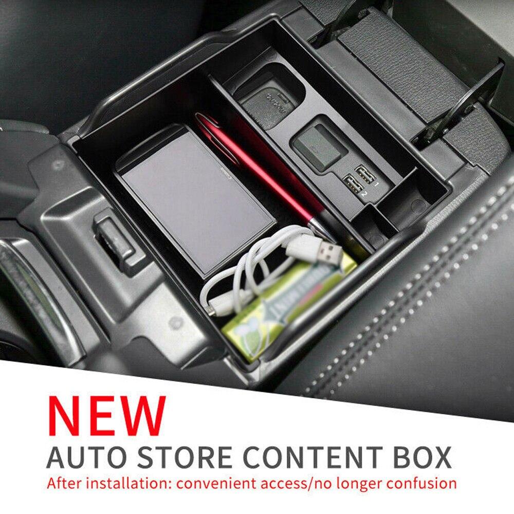 Reposabrazos de coche para Mazda 6 Atenza, caja de almacenamiento 2019 2020, resistente al agua y duradera