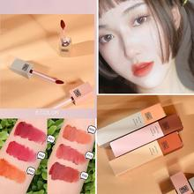 Tenir en direct liquide rouge à lèvres Lipgloss mat étanche brillant durable maquillage teinte rouge 4 nu cosmétique longue faire lèvres lèvres couleurs Y4A6