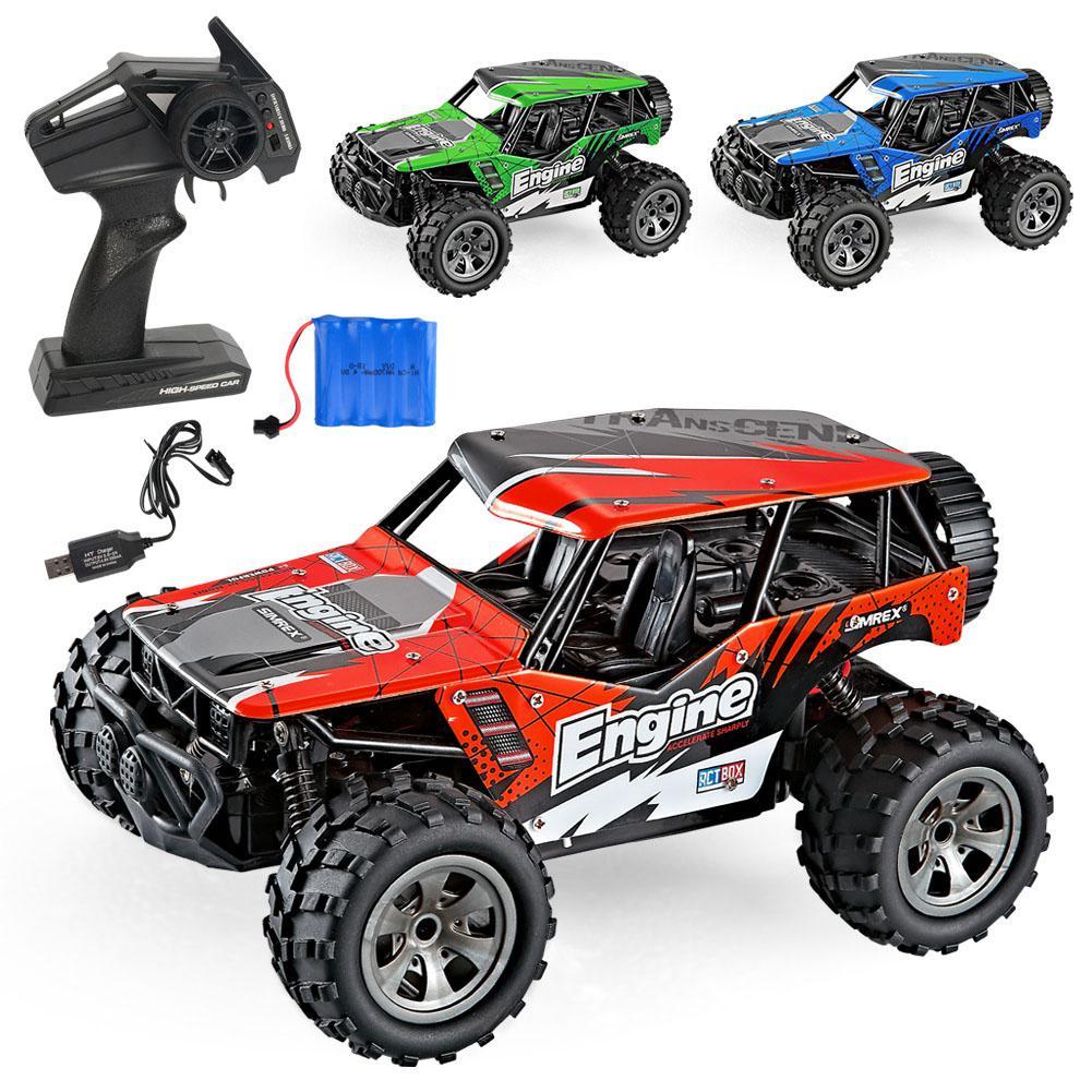 RCtown MG 2.4G 1:18 اللاسلكية التحكم عن بعد على الطرق الوعرة الشاحنات لعبة للأطفال الاطفال عالية السرعة تسلق لعبة صغيرة الانجراف القيادة سيارة