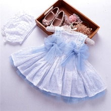Sommer kleinkind baby mädchen kleid hochzeit blau spanisch ballkleid kleider kinder vintage kleidung frock baumwolle kinder boutiquen