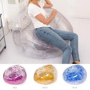 Bag Air Sofa Waterproof Glitter Inflatable PVC Chair Beach Party Home Office S7