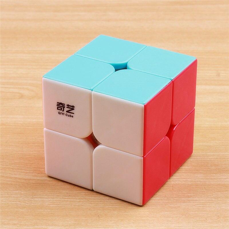 qiyi cubo magico pegajoso qidi 2x2x2 brinquedo educacional divertido para criancas