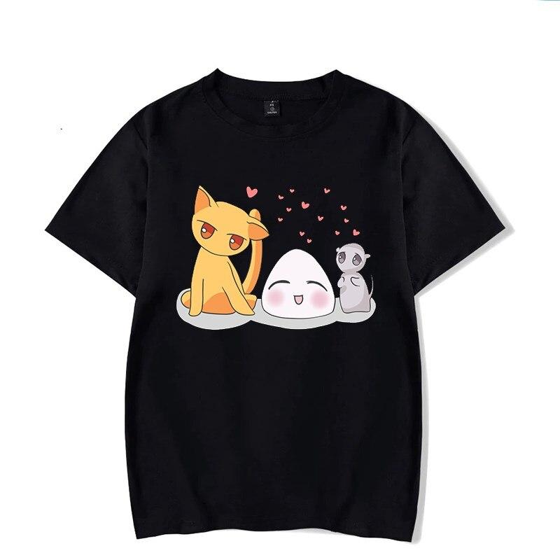 2020 cesta de frutas negro camiseta de Harajuku para Mujer T camisa...
